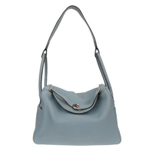 Lindy 35cm Sky Blue Togo Leather