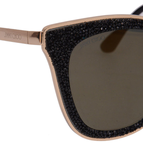 Lizzys Black Crystal Embellished Sunnies