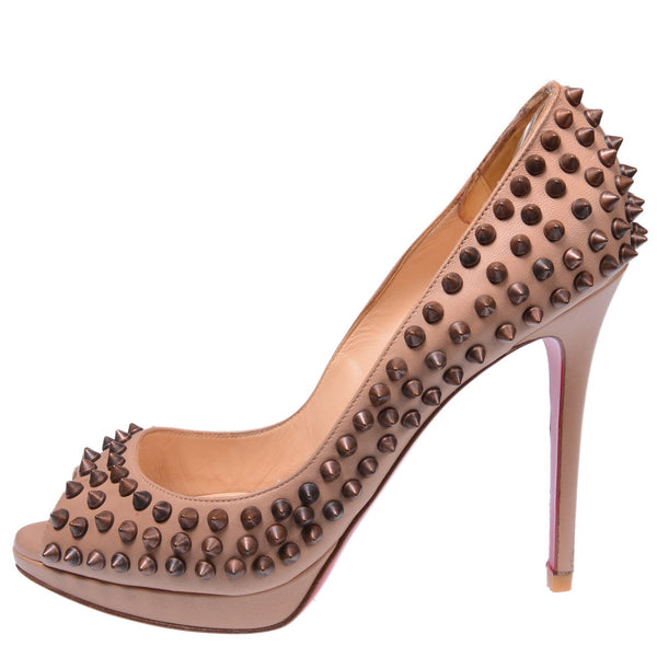 Yolanda 120mm Spiked Pumps