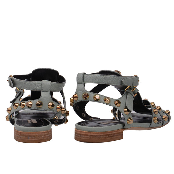 Sky Blue Arena Gladiator Flat Sandals