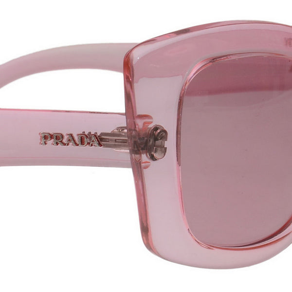 Pink Cat Eye Transparent Acetate Sunglasses