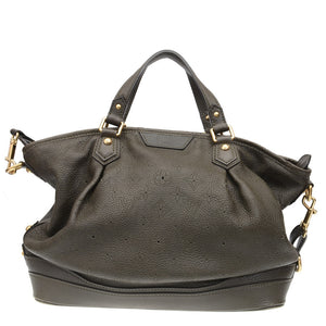 Mahina Stellar Green Emeraude Leather Shoulder Bag