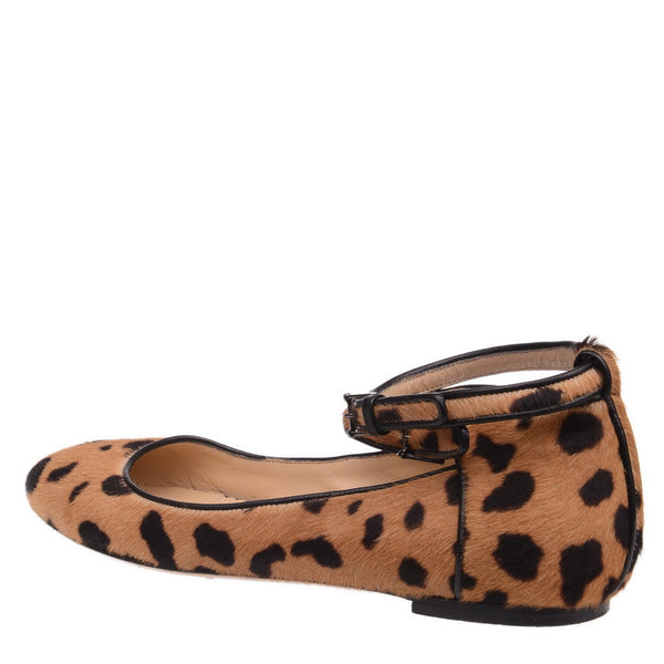 Animal Print Ballerinas