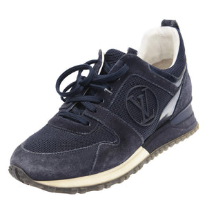 Navy Run Away Sneakers