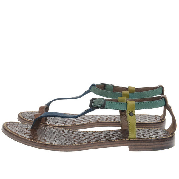 Toe Ring Multicolor Sandals