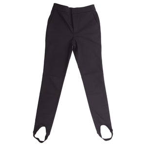 Black Stirrup Trousers