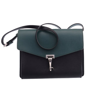 Small Macken Colorblock Leather Crossbody Bag