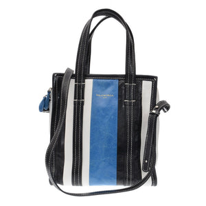 Bazzar Shopper Tri Color Cabas Bag