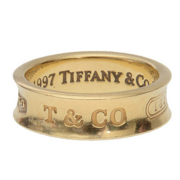 T & CO.  1837 Gold Ring
