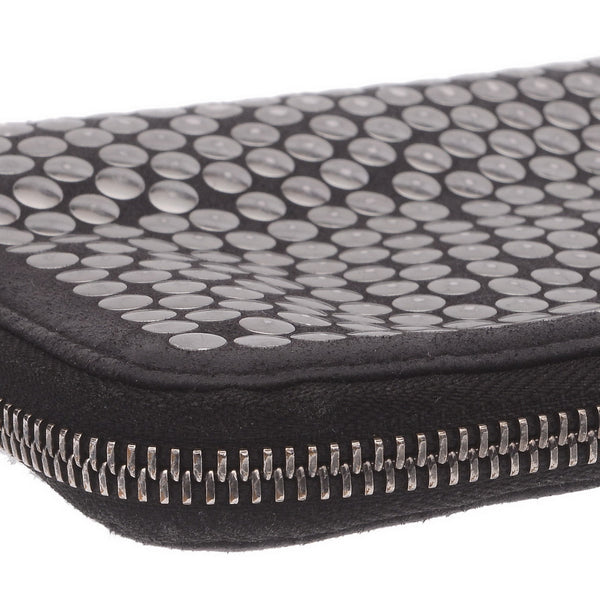 Silver Studded Large Wallet