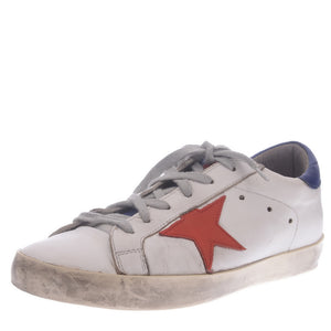 White Red Star Trainers