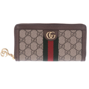 Ophidia GG Zip Around Wallet