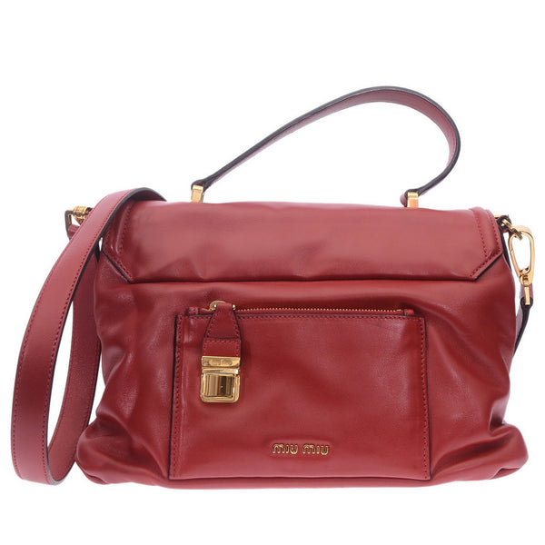 Fuoco Vitello Soft Leather Satchel Bag