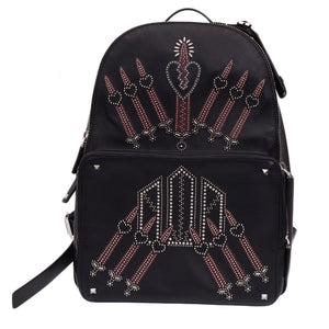 Black Garavani Love Blade Backpack
