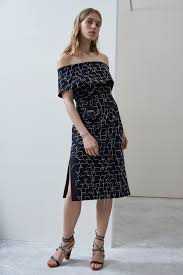 PHASE OUT MIDI DRESS