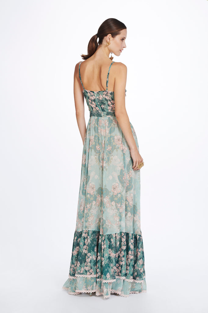 LAETITIA WRAP MAXI DRESS
