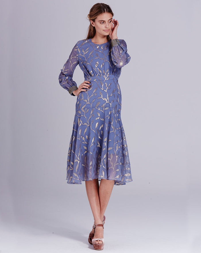LUELLA LEAF DRESS