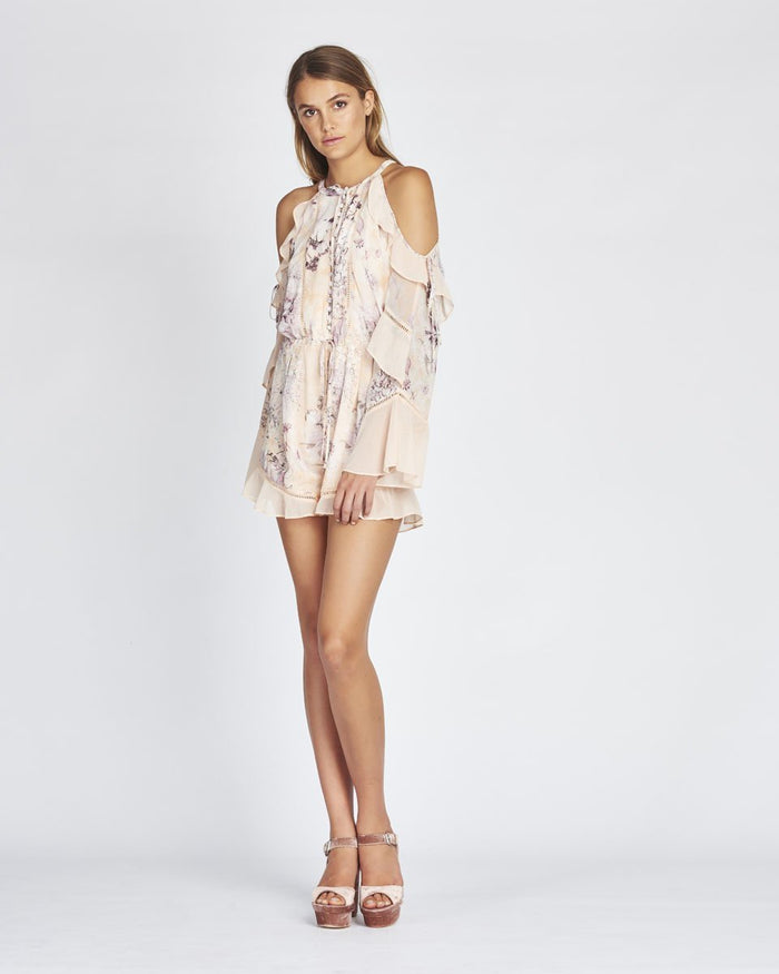 CAMILLA COLD SHOULDER ROMPER