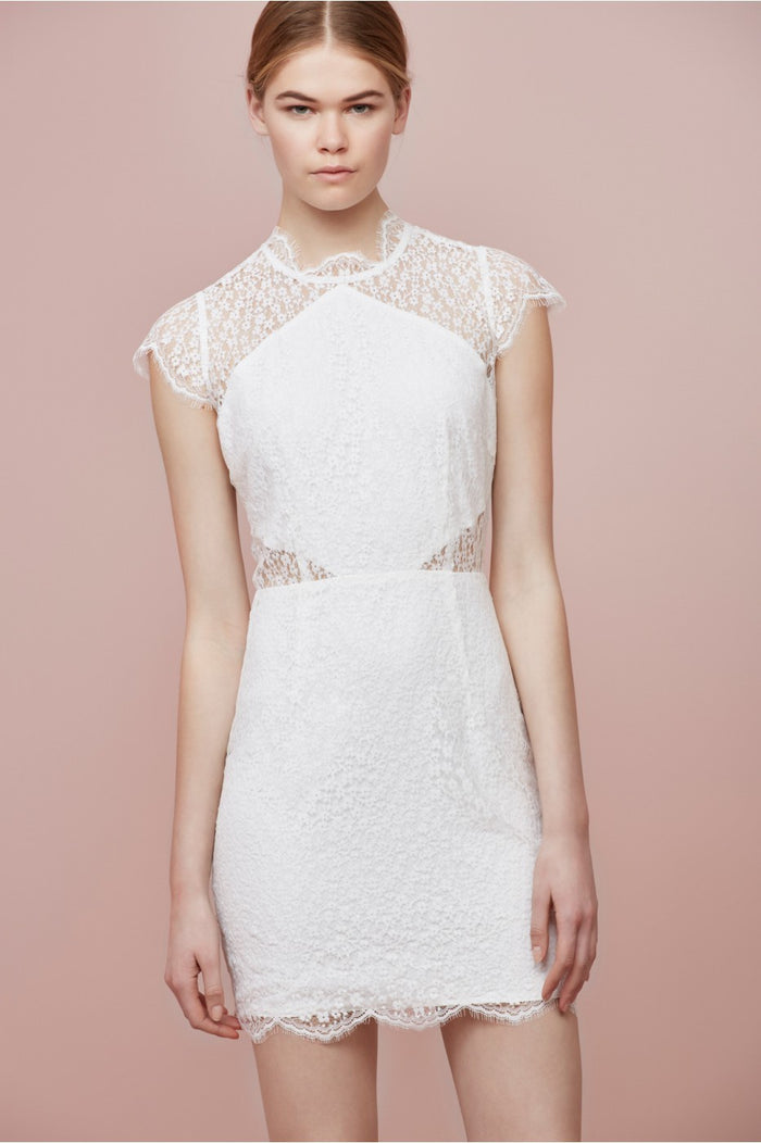 DAYDREAM LACE MINI DRESS
