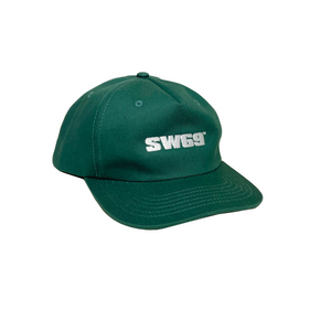5 PANEL LOGO SNAPBACK - FOREST GREEN