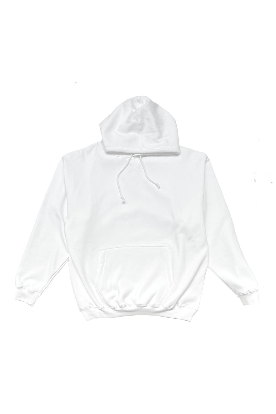 LEISURE93 - WHITE - HOODED SWEATSHIRT