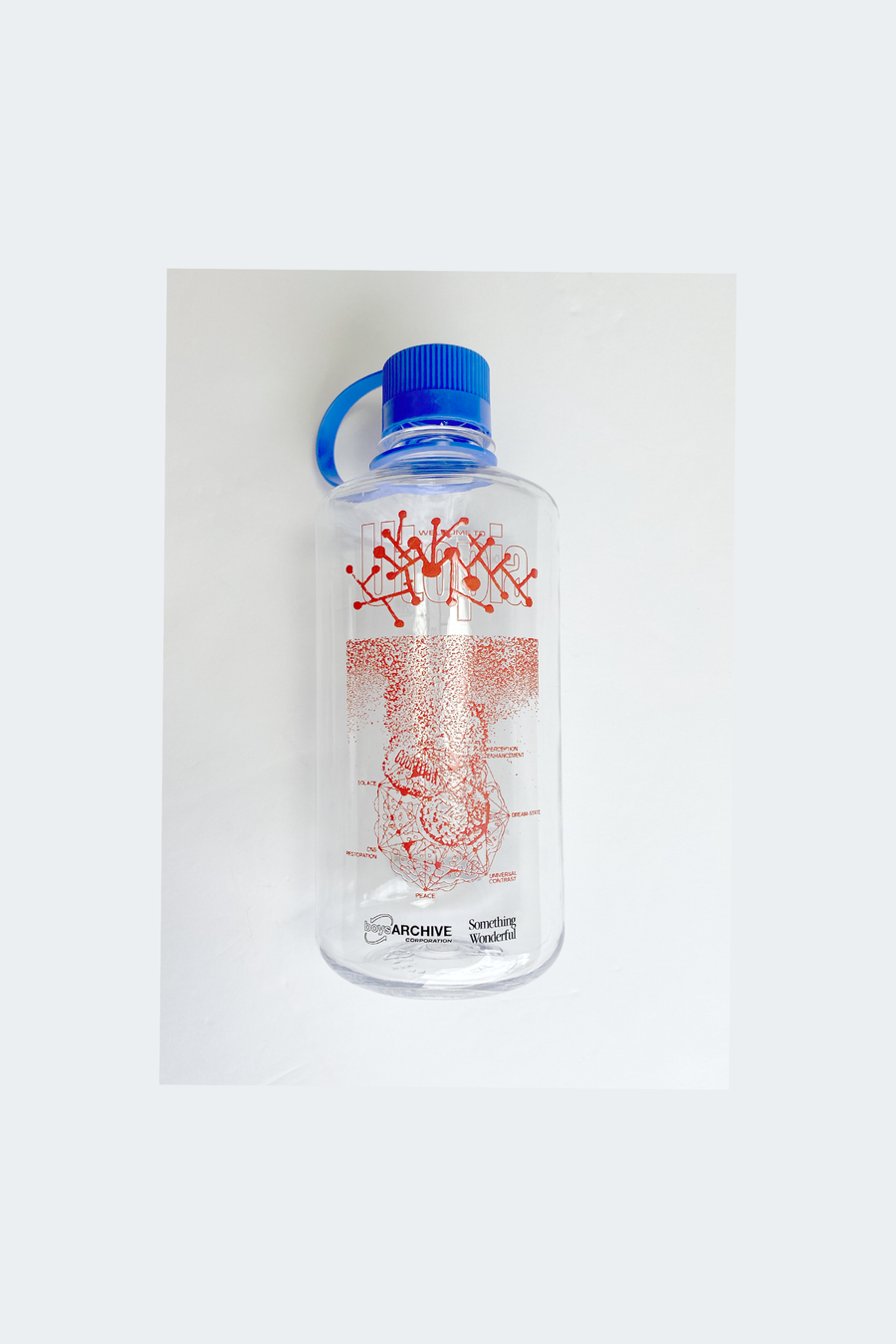 BOYS ARCHIVE X SOMETHING WONDERFUL UTOPIA - NALGENE WATER BOTTLE