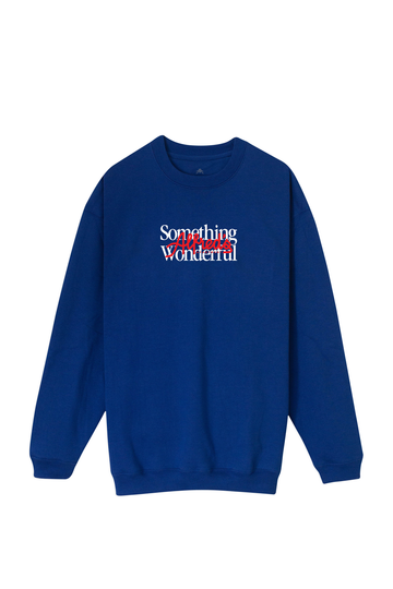 Alfreds Apartment X Something Wonderful Crew - Royal Blue
