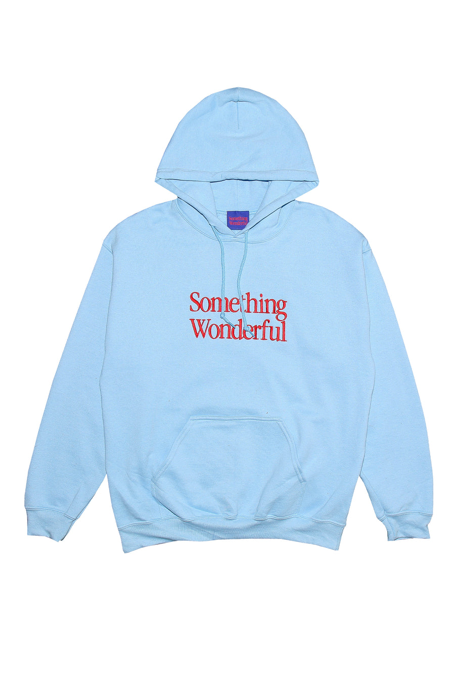 LOGO HOODED SWEATSHIRT LIGHT BLUE *PRE SALE