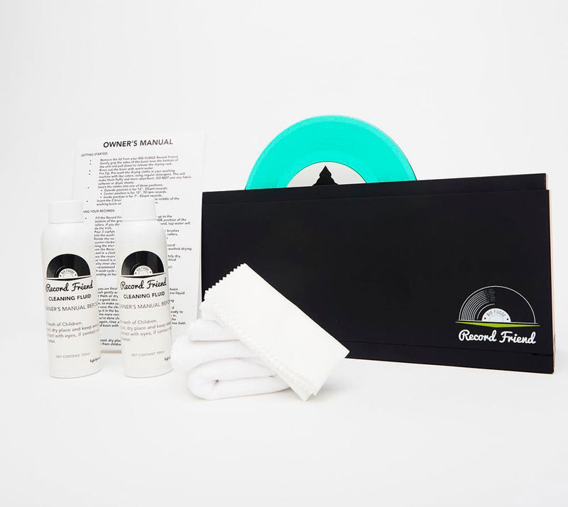 Big Fudge Vinyl's Record Friend vinyl record cleaning solution kit