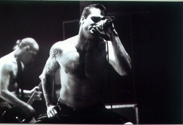 henry rollins shirtless music show
