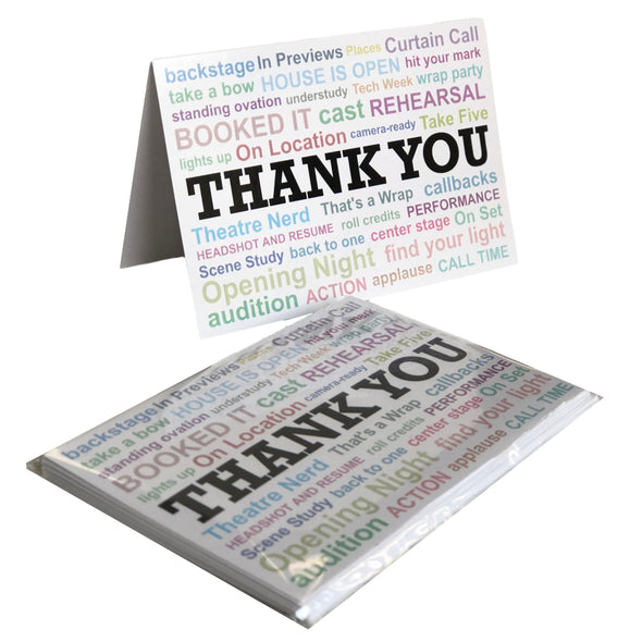 """Thank You"" 5-Card Pack"