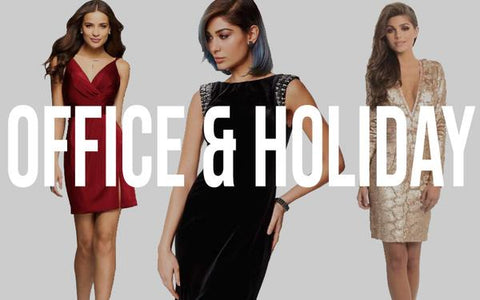 office and holiday party dresses