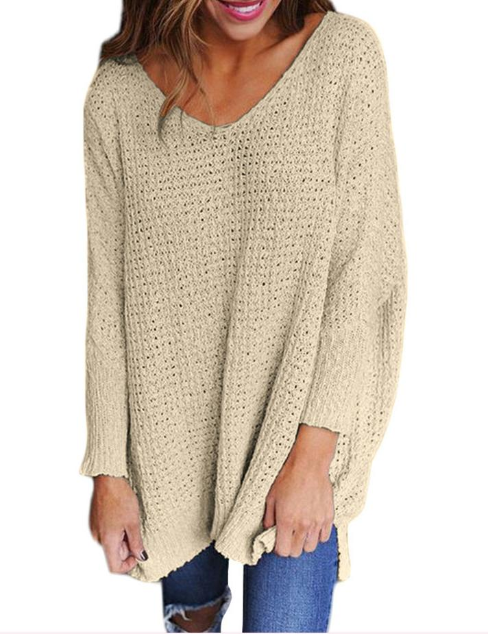 baggy cable knit sweater