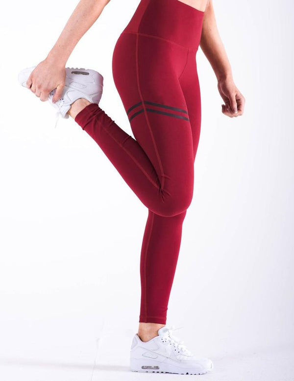 Ring Print Hips High Waist Leggings - Fancyqube