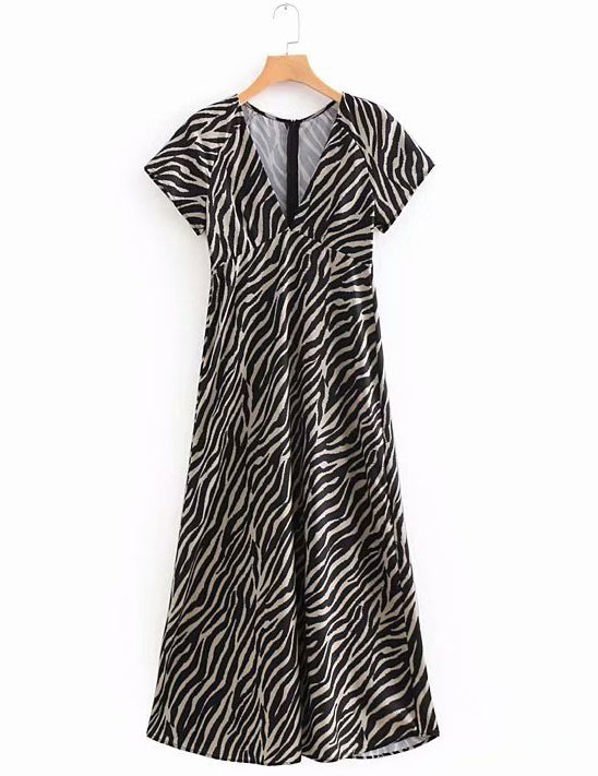 zebra dress for women