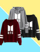 BTS Fans Casual  Fashion Long Sleeved Hoodie