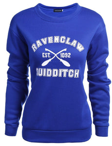 Long Sleeve Ravenclaw Quidditch Womens Pullover Saeatshirt - Fancyqube