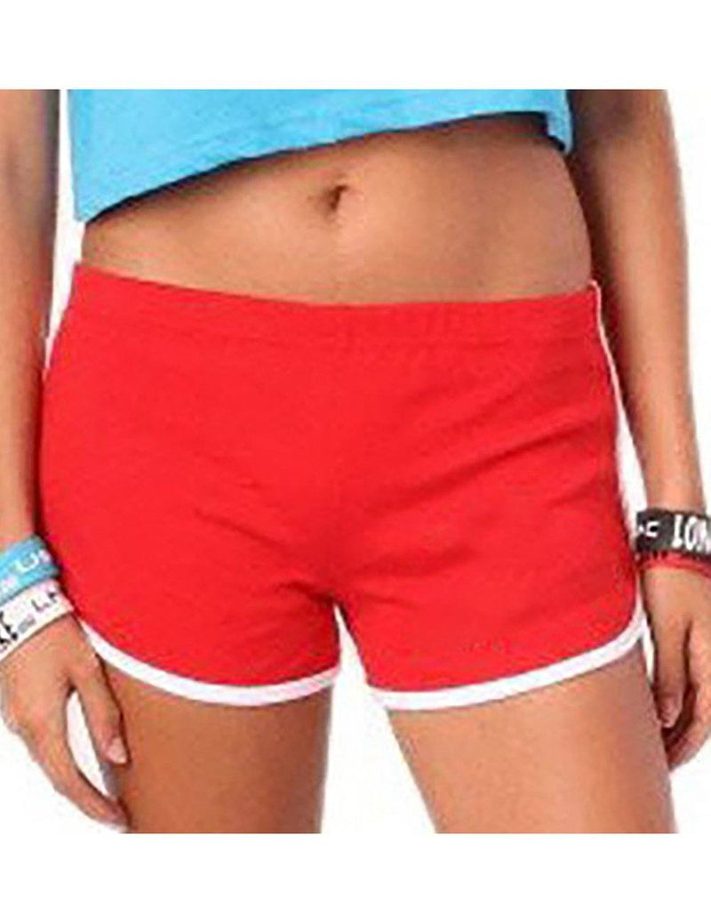Summer Lips Printed Home Cool Short Hot Pants - Fancyqube