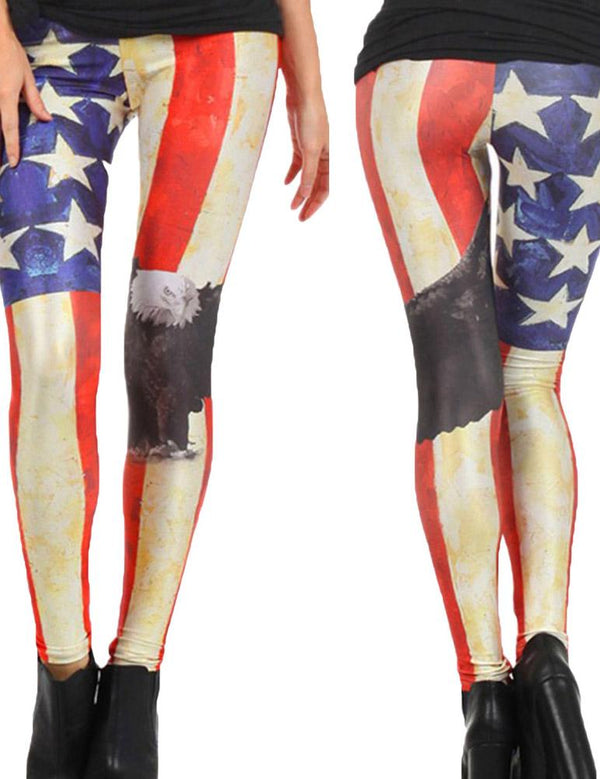 American flag sexy leggings - Fancyqube