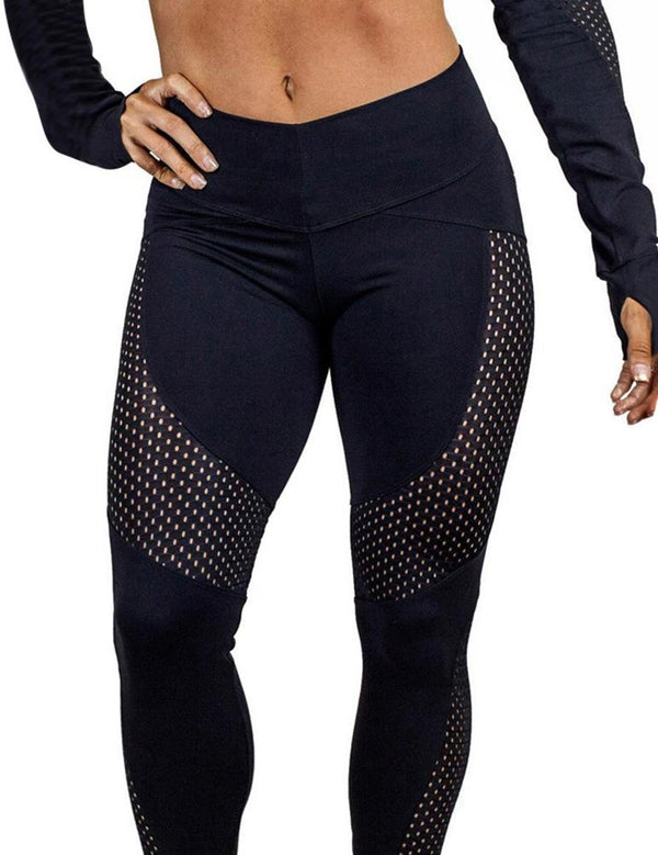Mesh Sports Yoga Pants - Fancyqube