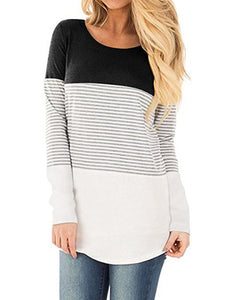 Women-Long-Sleeve-Color-Block-Knits-Tunics-Ladies-Round-Neck-T-Shirts-Block-Striped-Casual-Asymmetrical.jpg_220x220