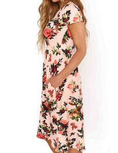 Floral Women's Swing Dress