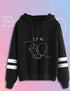 BTS Love Yourself Fans Fashion Long Sleeved Hoodie