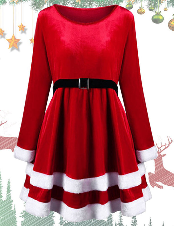 christmas dress red