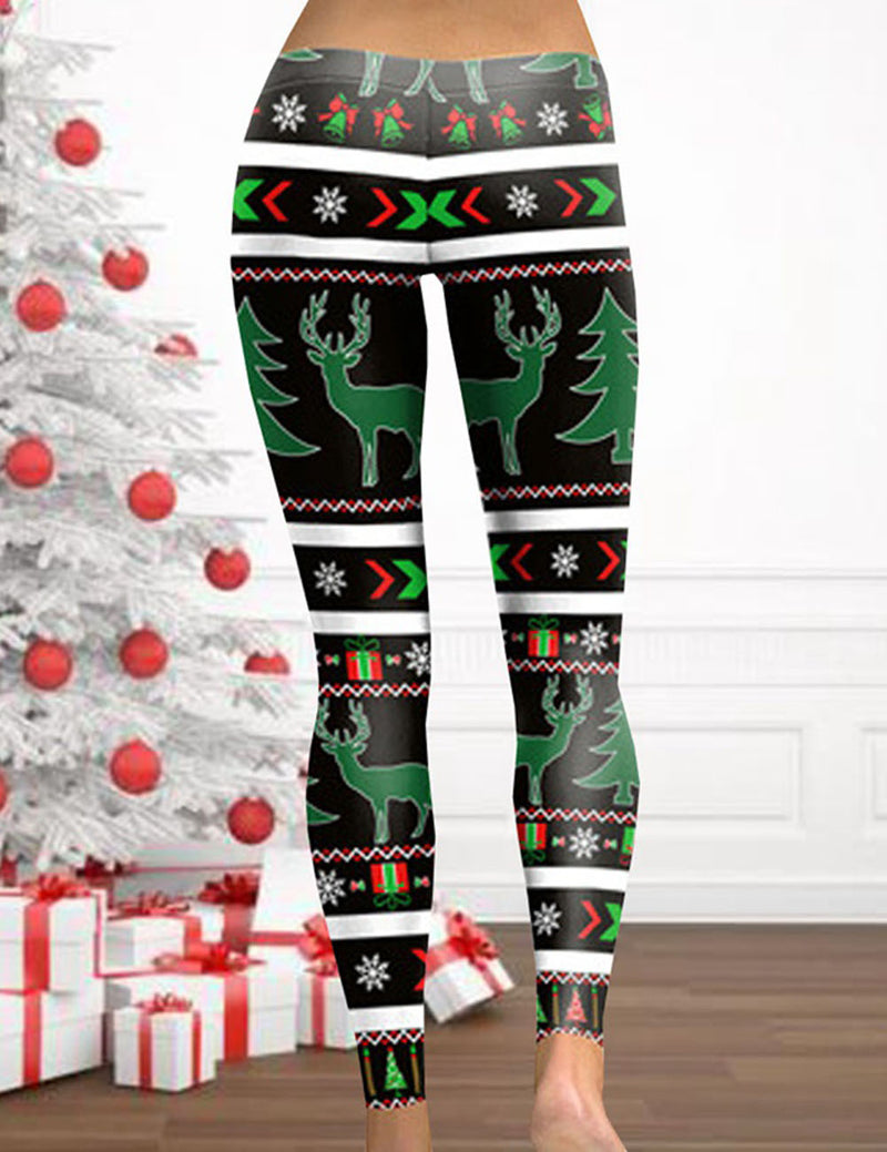reindeer sports leggings