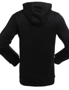 long sleeve warm couple black hoodie