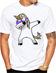 unicorn dad's shirt