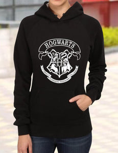 harry potter hogwarts printed couple matching hoodie