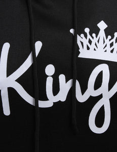 king crown lovers' sweatshirt