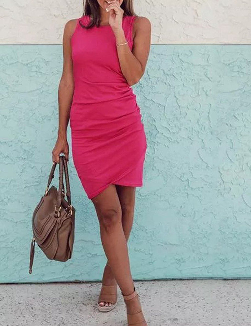 Perfect Cross Sheath Mini Dress